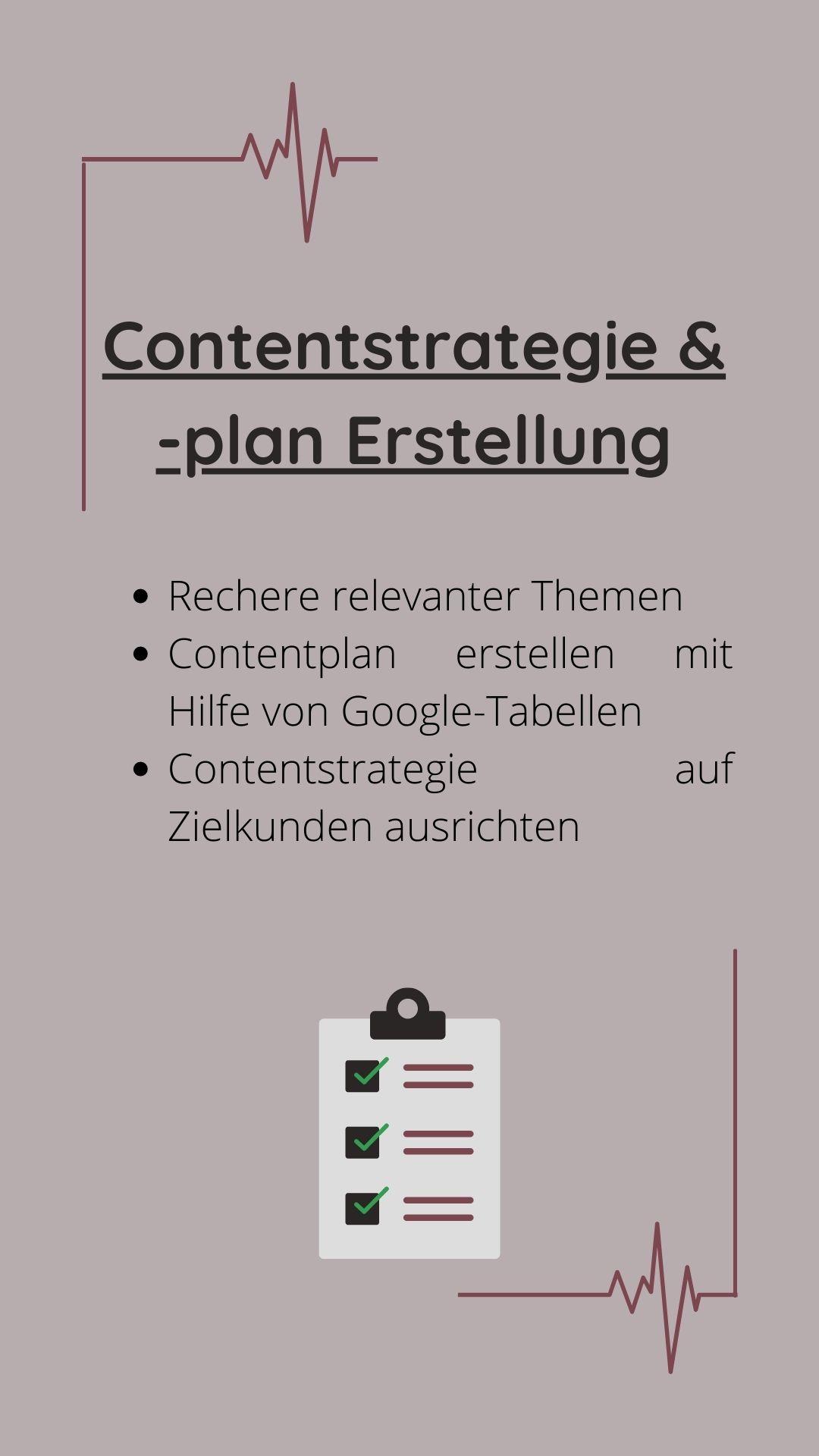 Contentstrategie- und plan erstellung kristin